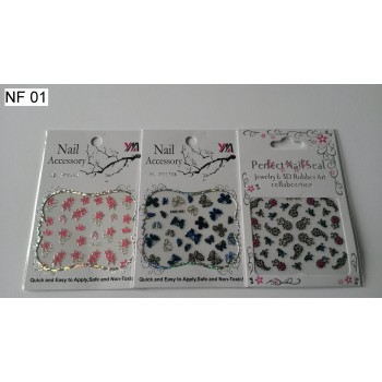 Лепенки за нокти NF01