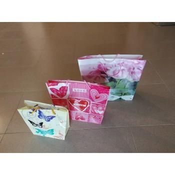 Плик за подарък PVC - трапец